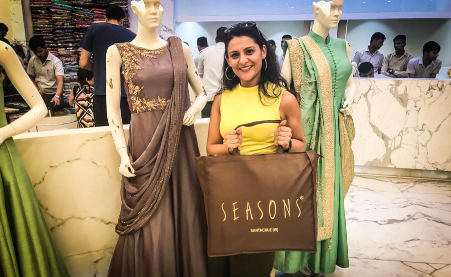 Me Shopping At Seasons Mumbai