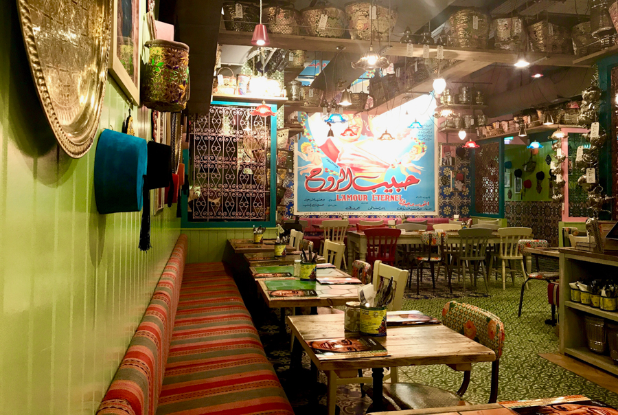 Comptoir Libanis - Restaurant Decor