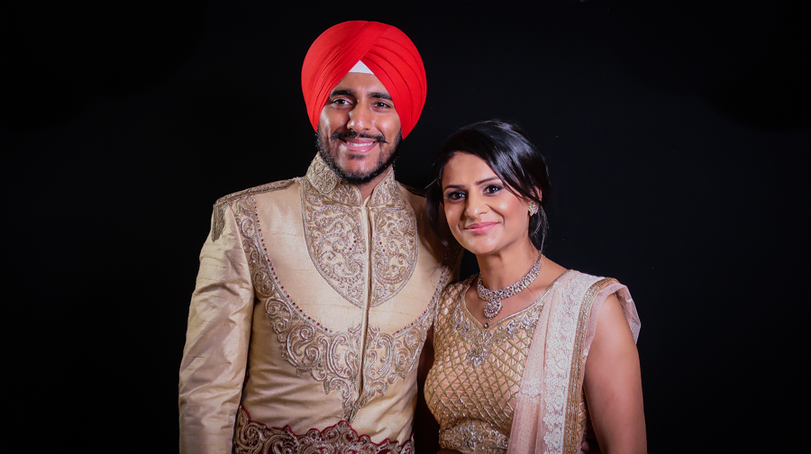 What I Wore - Me With The Groom On The Wedding Day