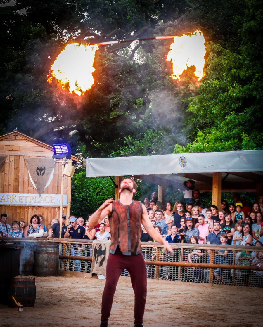 Slaying Dragons - Fire Eater entertains