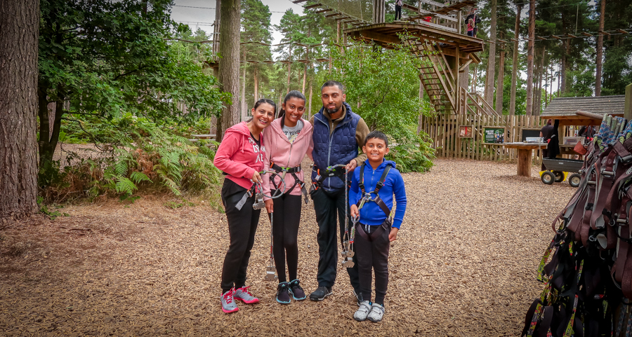 Me And Mine - Family At Go Ape