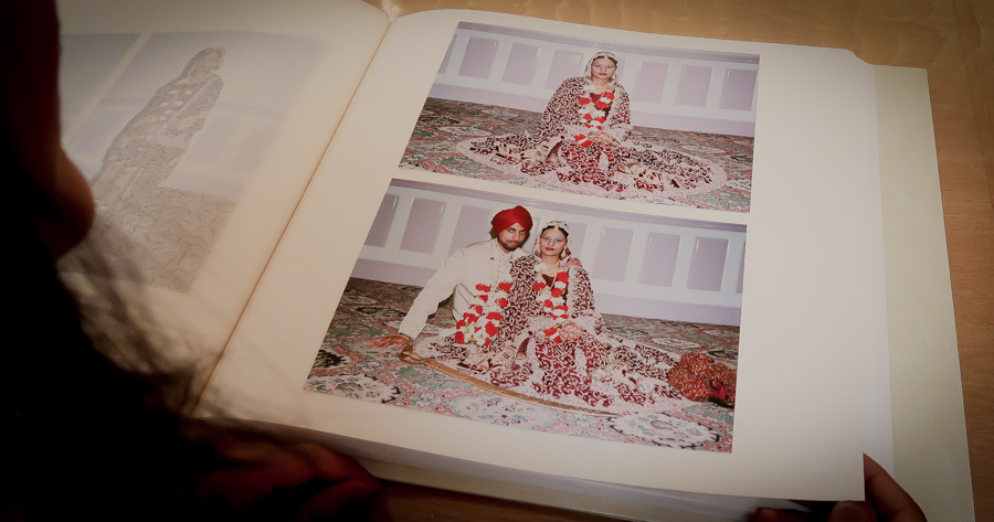 16 Years - Sukh and I on our wedding day