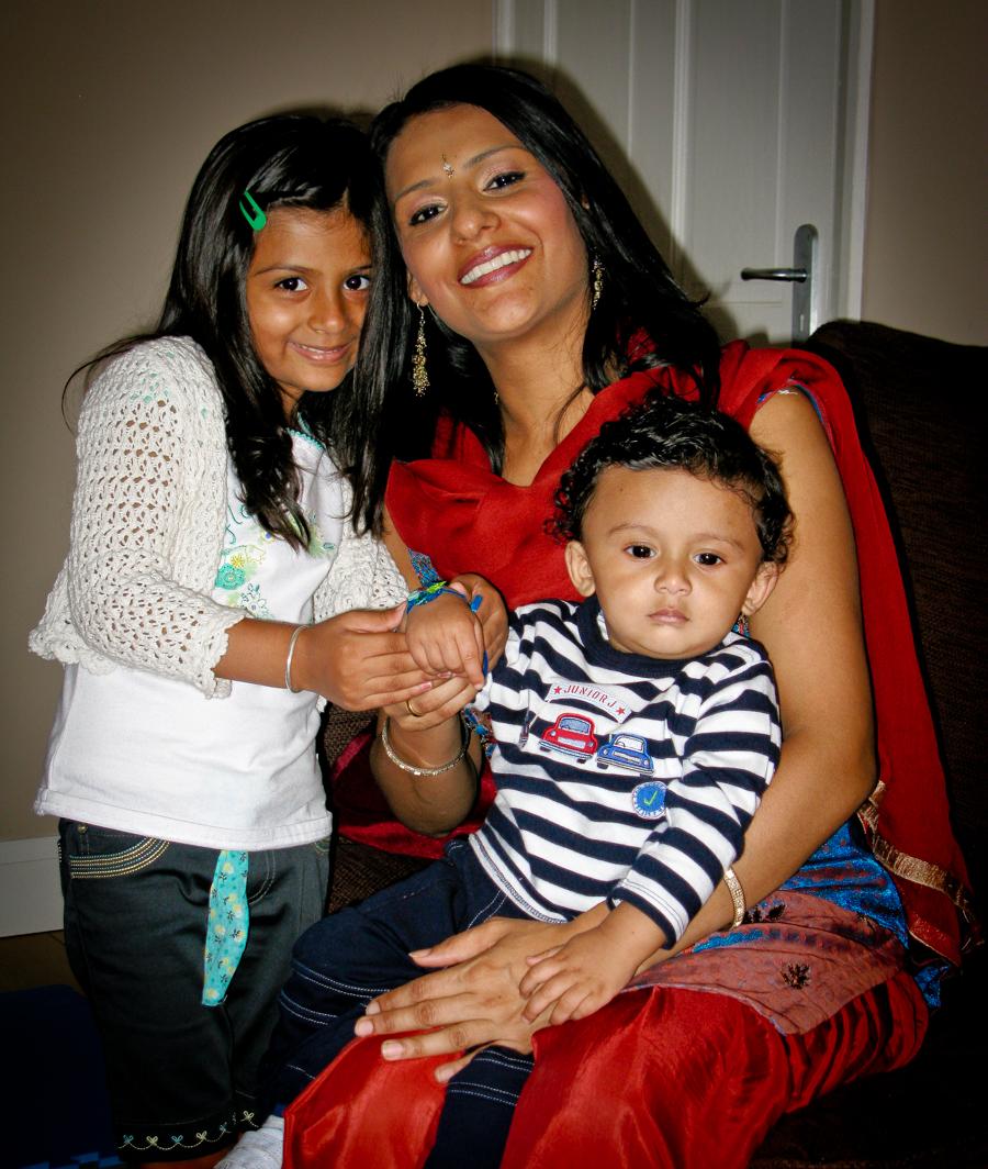 Brother-Sister Day - Shivam's First Raksha Bandhan