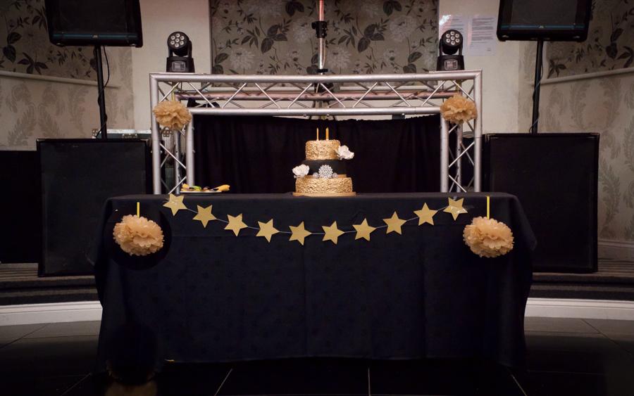 My Big Bash at 40 - My cake table