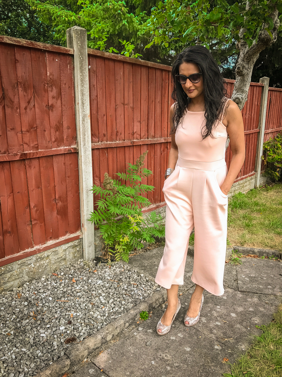 Wedding Season - Peach Jumpsuit