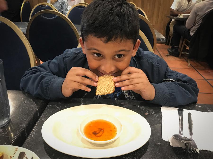 We Love Chinese - Shivam eats prawn toast