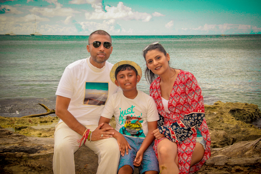 Time Out - Me with Sukh and Shivam on the beach