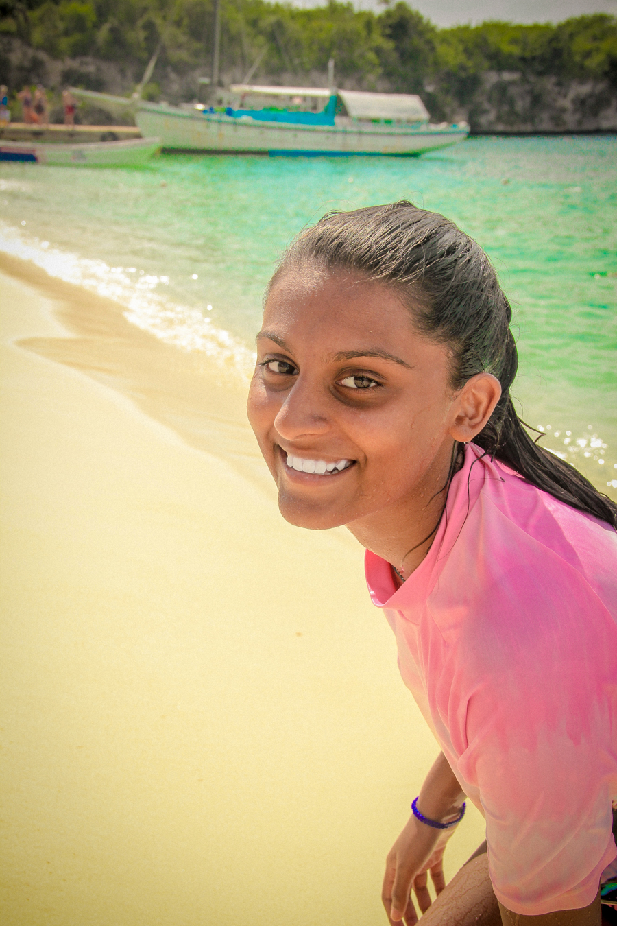 Time Out - Shalini on the beach