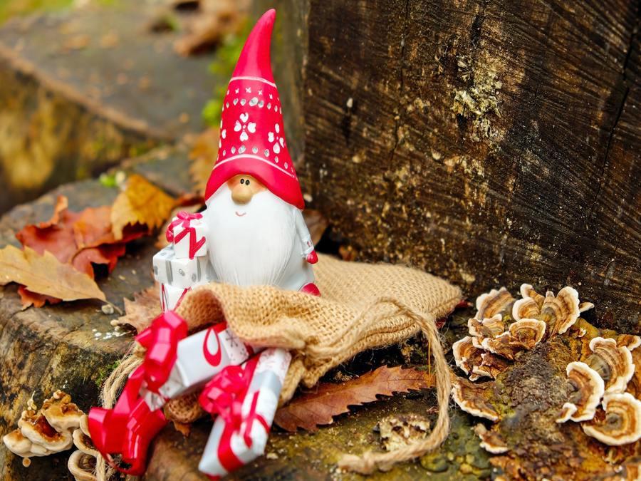 Christmas In My House - Santa Ornament