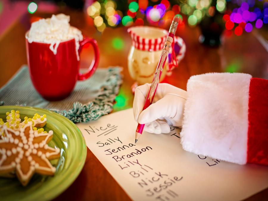 Dear Santa - Santa Letter