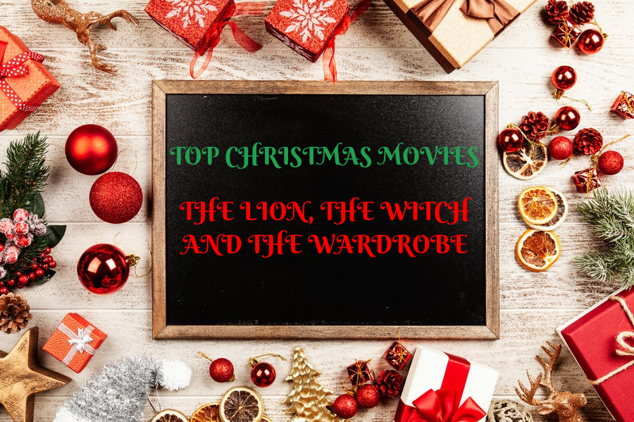 Christmas Movies - The Lion, The Witch and The Wardrobe sign