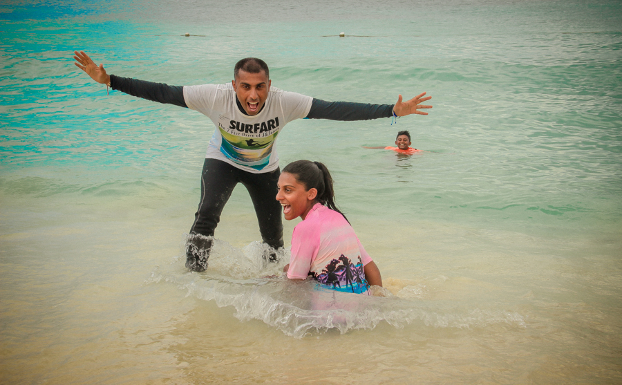 Relationship With Your Teen - Sukh And Shalini On The Beach In The Dominican Republic