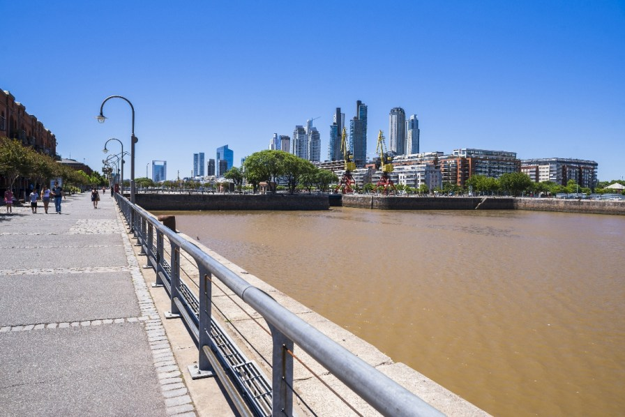 Puerto Madero District, Buenos Aires, Argentina