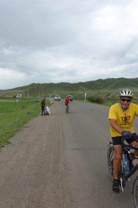 Durchfahrt durch Bayangol