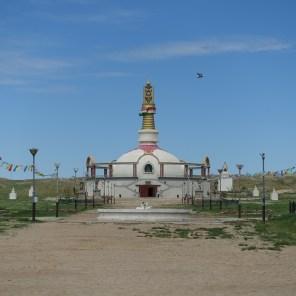 Stupa im Khamar Kloster