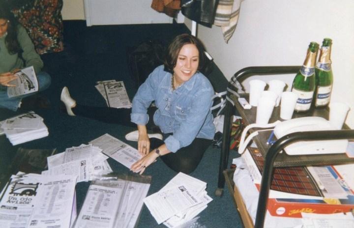 Daniela Blanco, la directora y profe en la UBA.