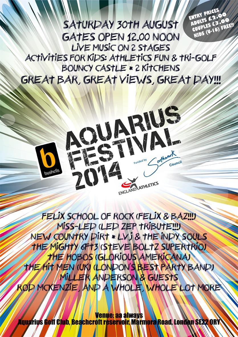 5th Festival at Aquarius Golf Club - Around Dulwich