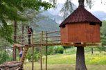 Casa sull'albero. Il Tree Village di Claut (PN)