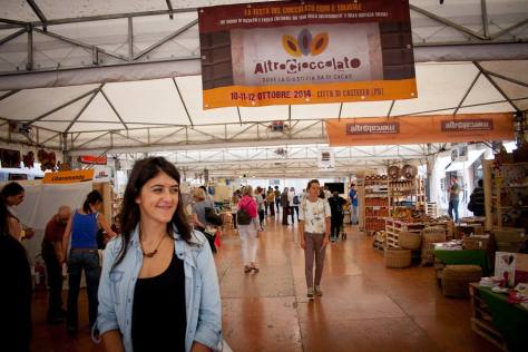Altrocioccolato a Città di Castello, Umbria è dedicata alla produzione e distribuzione equa e solidale del cioccolato