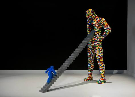 The Art of brick. A Roma in mostra l'arte contemporanea con mattoncini Lego.