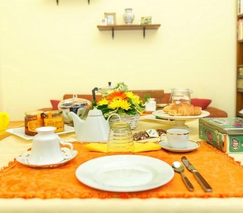 BB Piccola Sicilia, colazione
