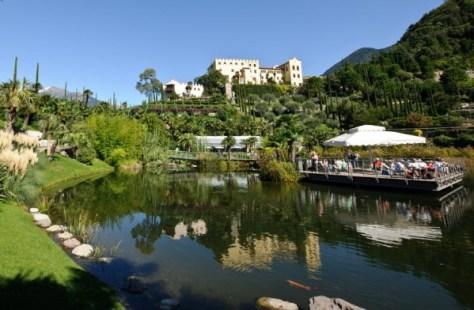 weekend bambini Giardini di Castel Trauttmansdorff - primavera