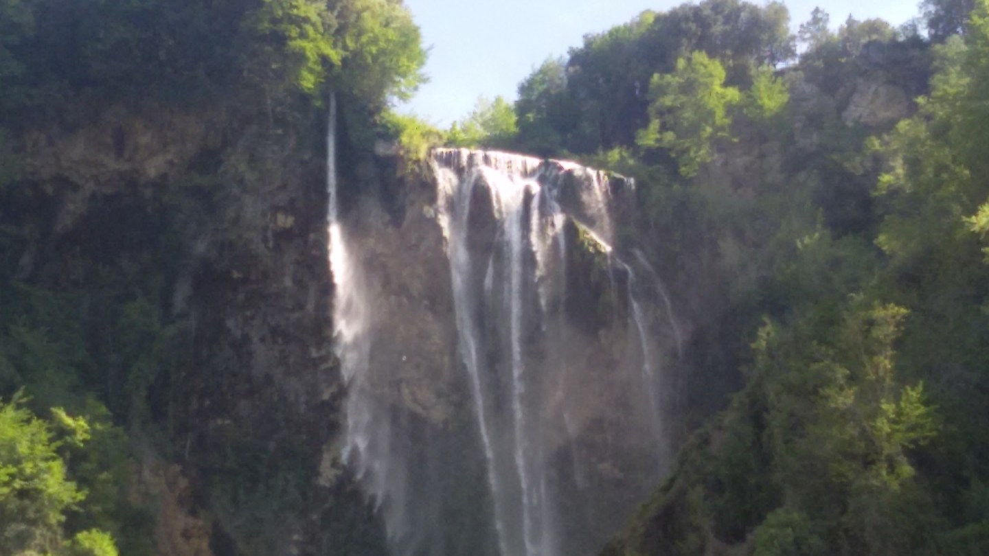 weekend in umbria con i bambini: Cascate delle marmore