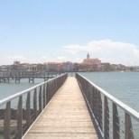 La passerella al Lago di Lesina