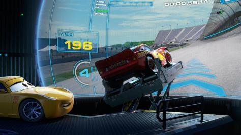 cars3_Saetta e Cruz si allenano