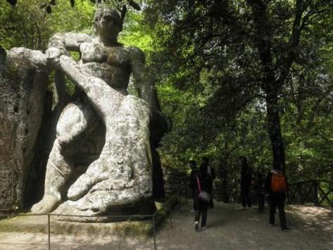 weekend bambini parchi artistici sacro bosco di bomarzo parco dei mostri