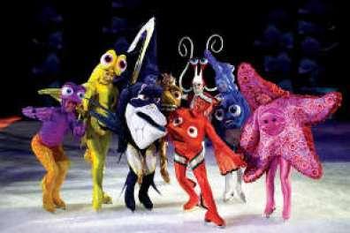 Teatro bambini frozen disney on ice musical 2020
