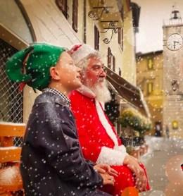 Il Paese di Babbo Natale- Chianciano Terme-attesa-dei-bambini