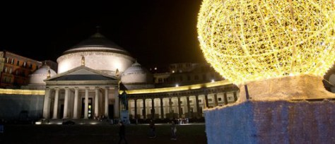 Napoli a Natale- piazza Plebiscito
