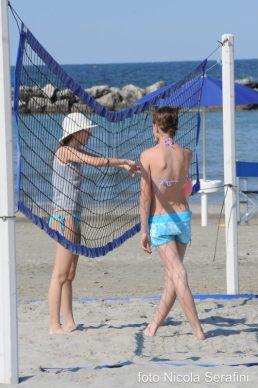 Blue Suite Hotel giochi per bambini in spiaggia