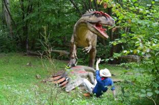 parchi dei dinosauri in europa da visitare con i bambini - Dinosaurier Park gernania
