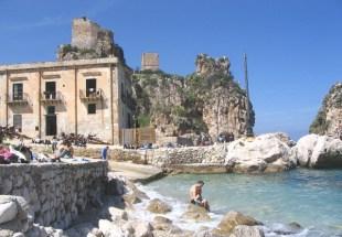 Sicilia con i bambini itinerario trapanese Scopello- la Tonnara