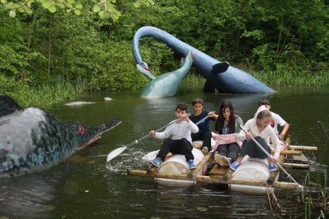 parchi dei dinosauri in europa da visitare con i bambini