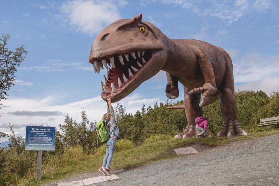 parchi dinosauri bambini in europa triassic park austria