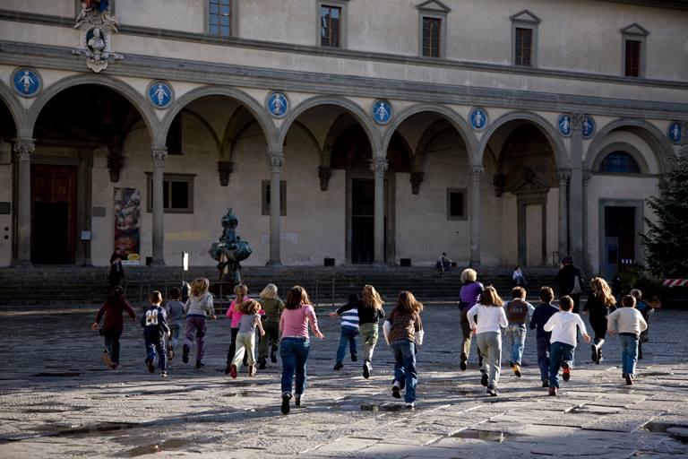 Firenze con i bambini. Museo Innocenti