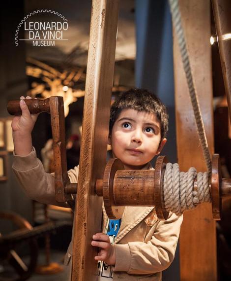 Visitare Firenze con i bambini Museo Leonardo