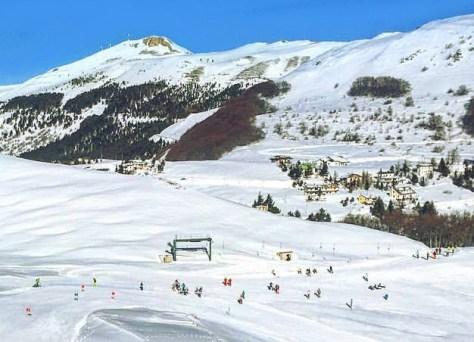 Dove sciare con i bambini in centro Italia bognola marche