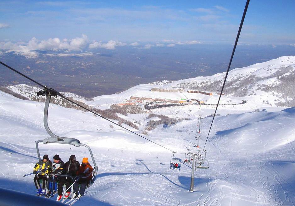 sciare al sud con i bambini campitello matese