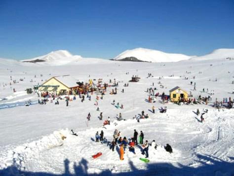 Dove sciare con i bambini in centro Italia Campo Catino lazio