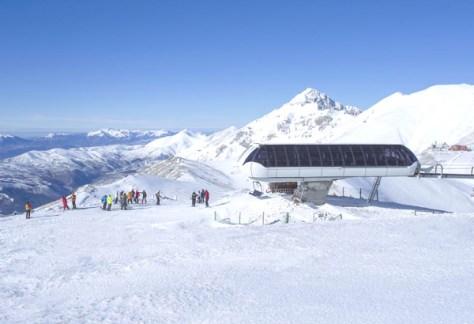 Dove sciare con i bambini in centro Italia campo stella campo imperatore-gran sasso- vista