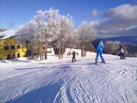 sciare al sud con i bambini lorica calabria