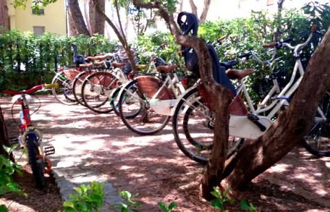 mareblu bici per gli ospiti