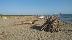 principina spiaggia libera vista