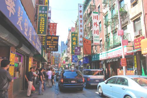 Viaggio a New York per famiglie-Chinatown-Manhattan