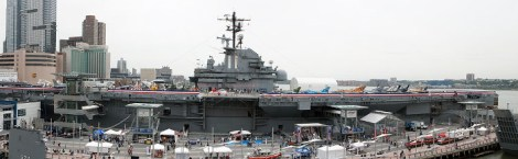Viaggio a New York per famiglie-Intrepid Sea, Air and Space Museum-vista