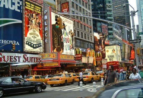 Viaggio a New York per famiglie-New-York-Times-Square